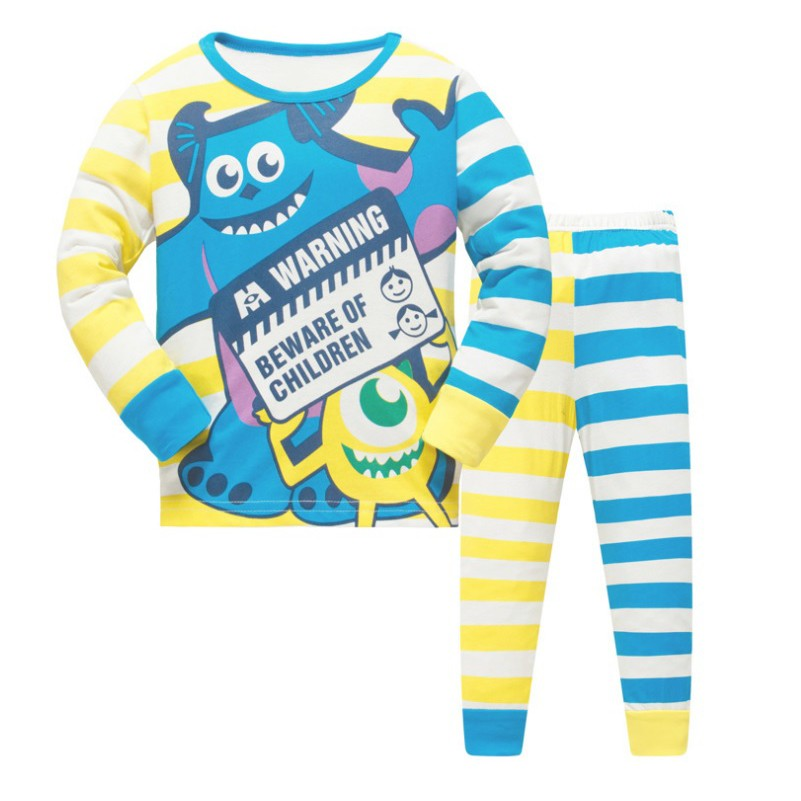 LM015 New Kids Girls STriped BFFs Pajamas PJs Set Sleepwear  6c5e0ea1e