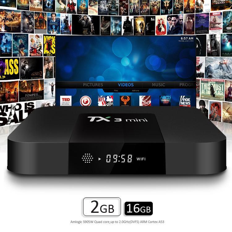 smart tv box tx3 mini 2gb + 16gb android 7.1