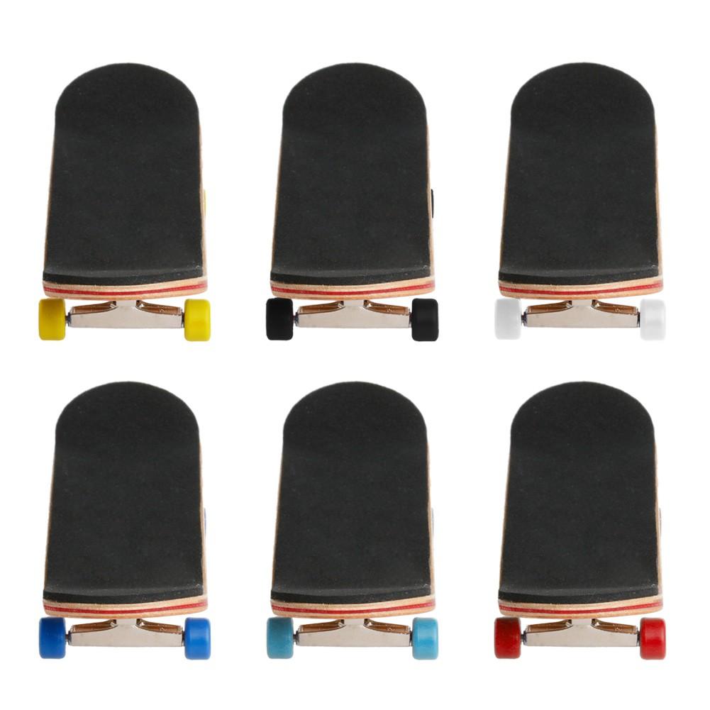 Wooden Deck Fingerboard Skateboard Maple Wood Set Sport Games Kids Xmas Gifts