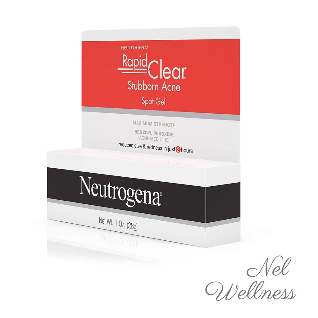 Fast Acting Neutrogena Rapid Clear Stubborn Acne Spot Gel 28g