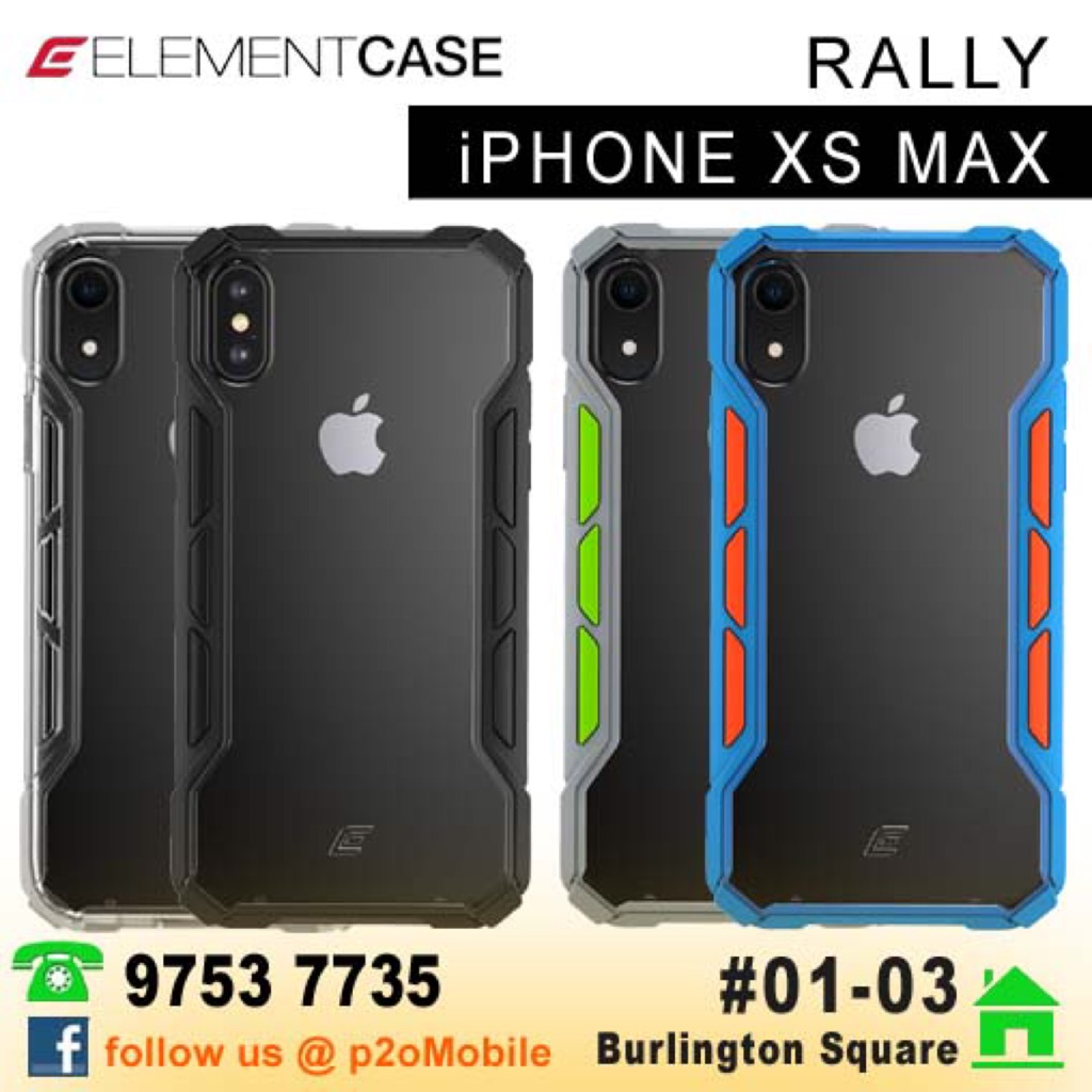 new product 72d12 012fc Element Case Rally for iPhone XS Max
