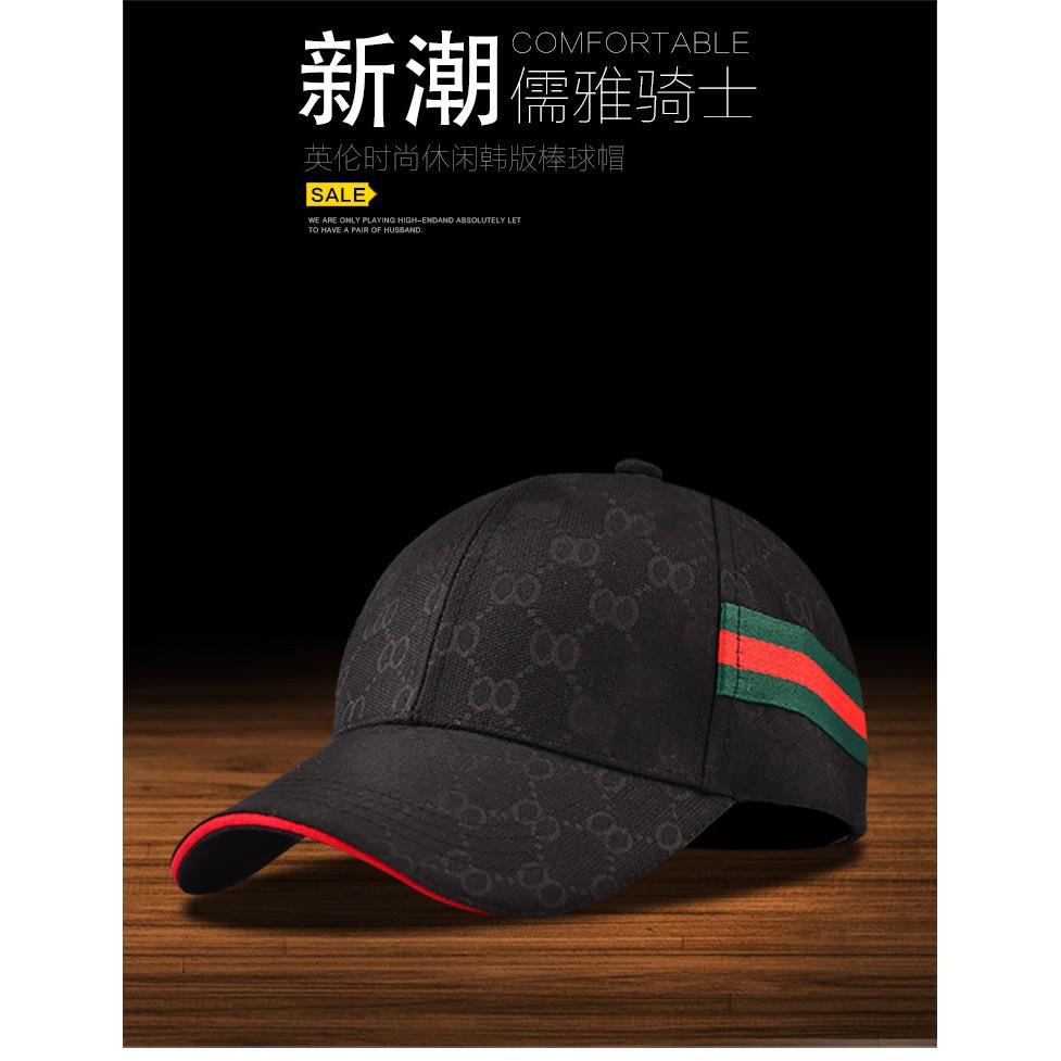 66af5596d8c18 Simple Men s Tide Brand Black Cap Korean Summer Visor Casual Wild Baseball  Cap