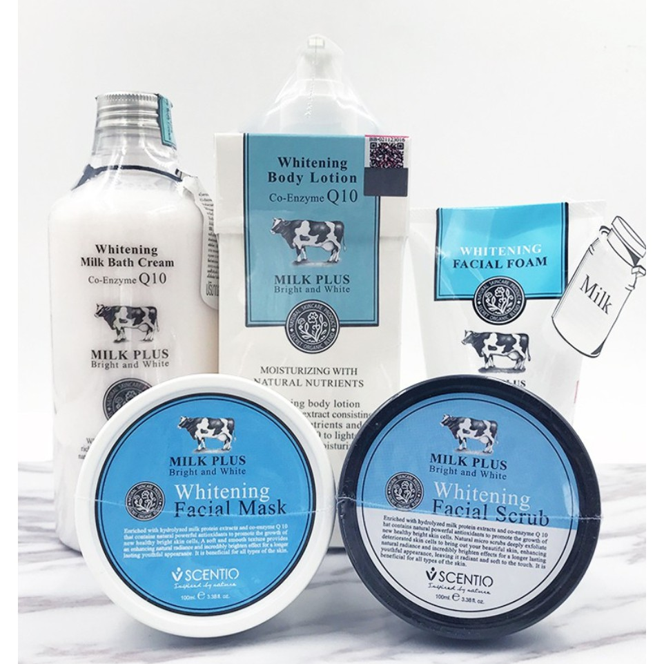 Beauty Buffet Scentio Milk Plus Whitening Q10 Facial Foam Mask Body Clear Shampoo New Complete Soft Care 170ml Wash Lotion Shopee Singapore