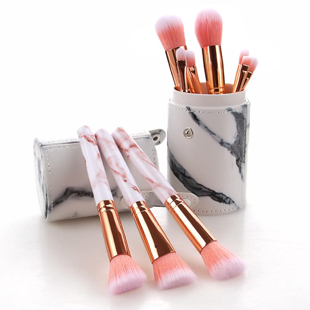 Supo Home 10pcs Makeup Brush Set With