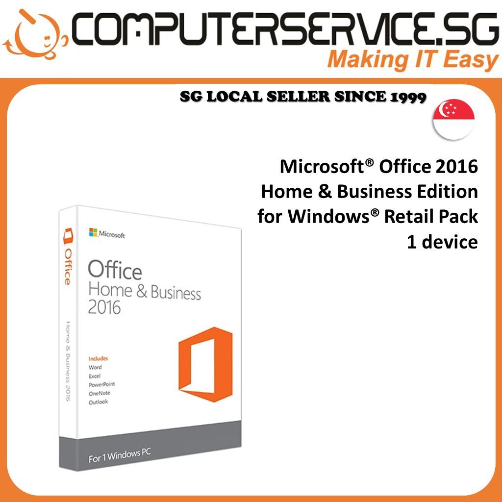 Microsoft Office Home And Business 2016 - WINDOWS [Original ...