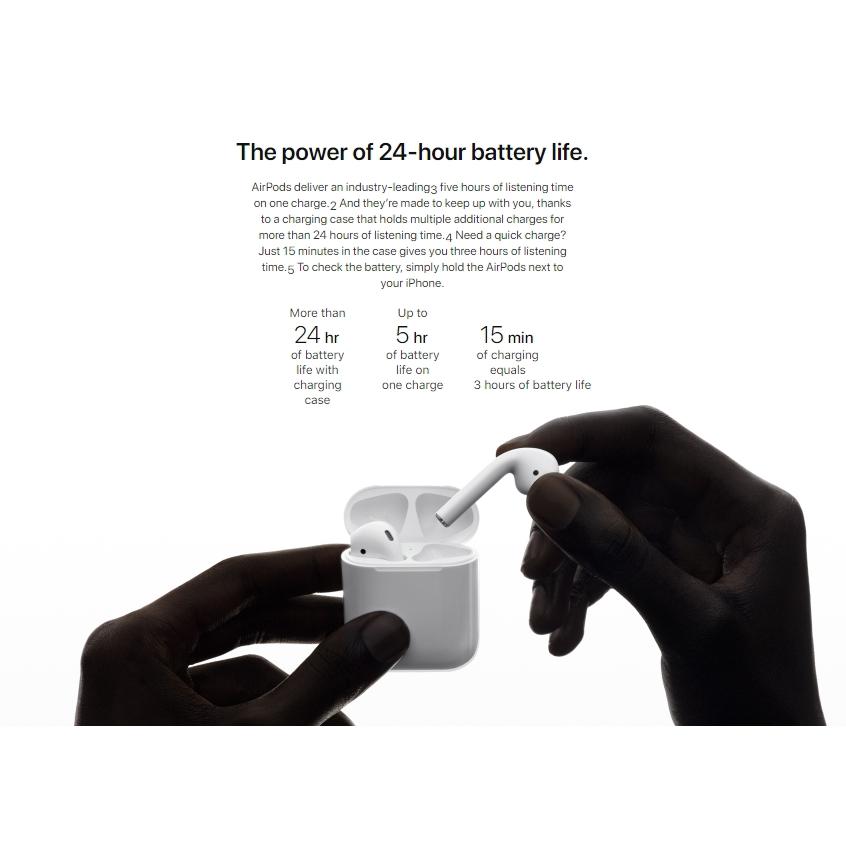 Apple (100%original) AirPods Bluetooth Wireless Headset