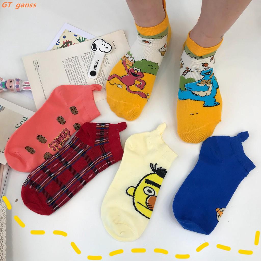 Ankle Socks//Sneaker Socks ☼Novel Funny 3D Printing Flip Flops Socks Group