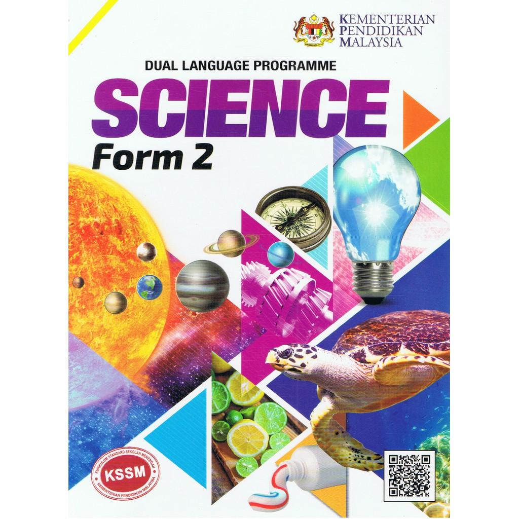 Karangkraf Buku Teks Science Form 2 Dlp Textbook Shopee Singapore