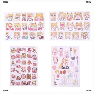 EV/_CL Sailor Moon Girl Deko Sticker Set Tagebuch Album Label Stic Tb  NeJMDE X0D