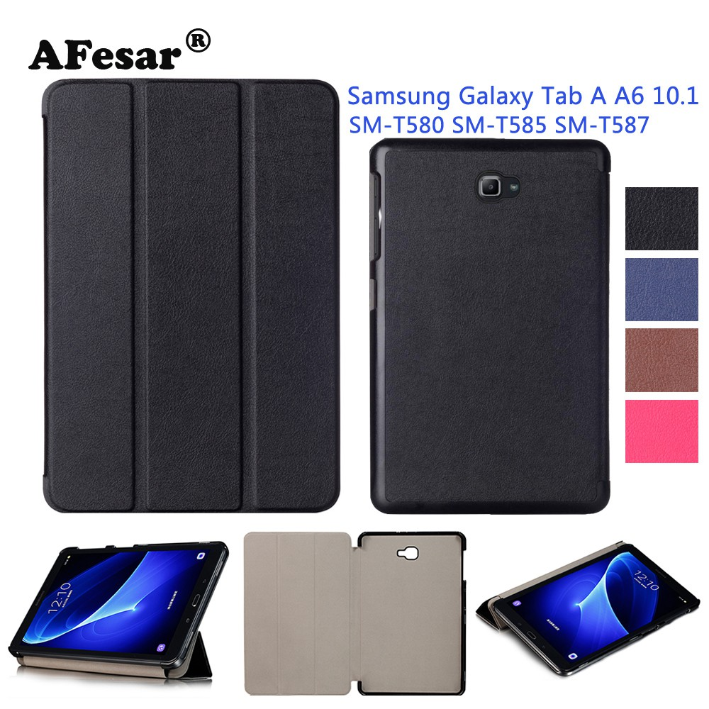 Samsung Galaxy Tab A A6 10 1 T580 T585 T587 Slim Smart Case Cover Auto Sleep