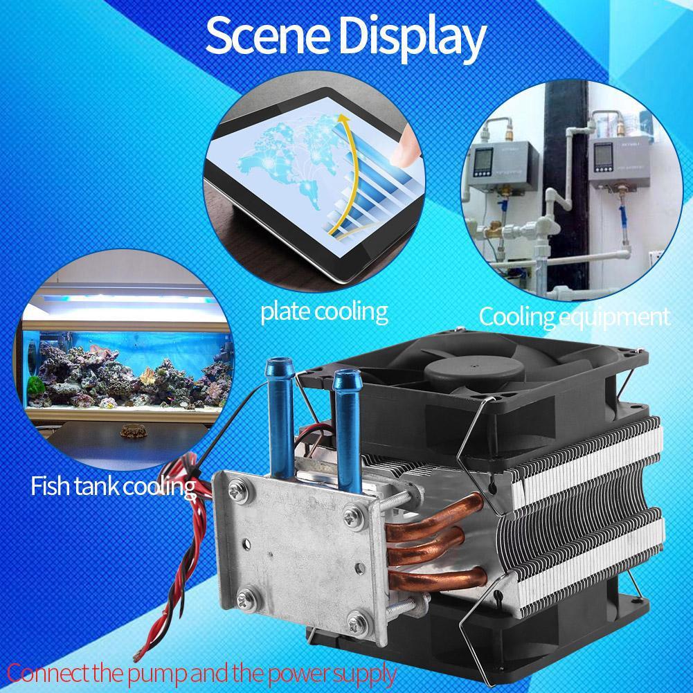 12V Refrigeration DIY Water Cooling System Cooler Device