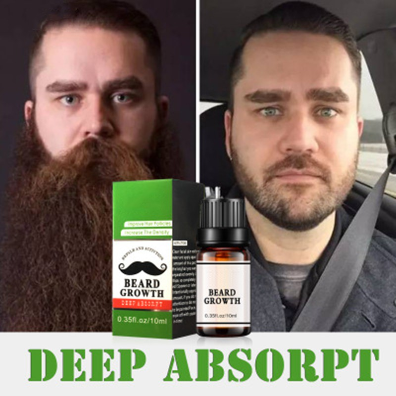 Image Is Loading Beard Growth Oil Fast Grow Natural 100 Hair