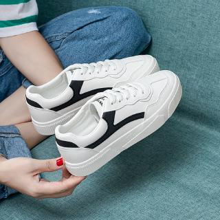 ax thin sports white shoes female casual breathable white