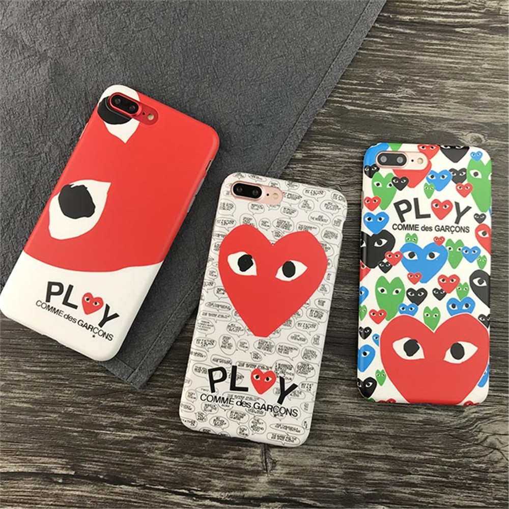 best website 88445 89ffc [FREE DELIVERY] CDG Play Comme des Garcons Heart iPhone Case