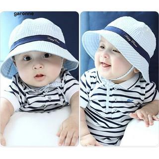 9053139f6f0 GR▷Toddler Infant Sun Cap Summer Outdoor Baby Girls Boys Beach Bucket Hat  Sunhats
