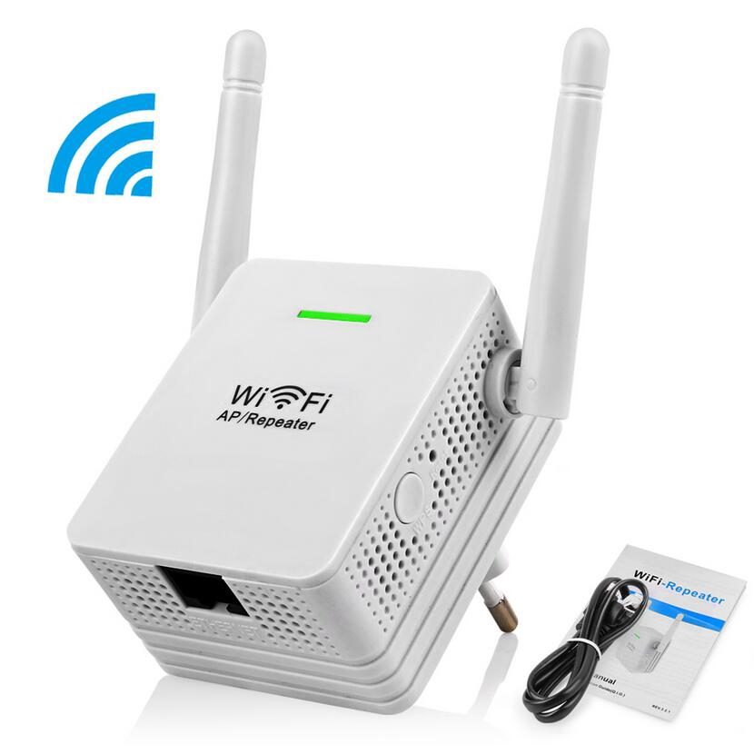 Wireless Repeater 300Mbps Network Router WiFi Signal Range Extender Booster