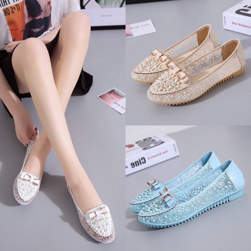 6815666f4fe062 transparent shoe - Flats Price and Deals - Women s Shoes Feb 2019 ...