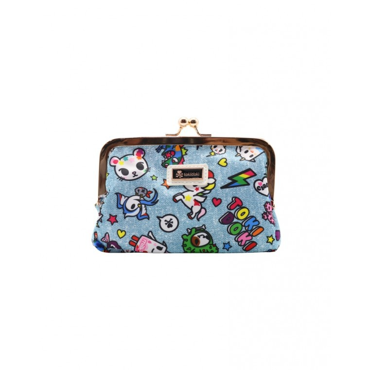 5dc81428045 Tokidoki Denim Daze Kisslock Coin Purse   Shopee Singapore