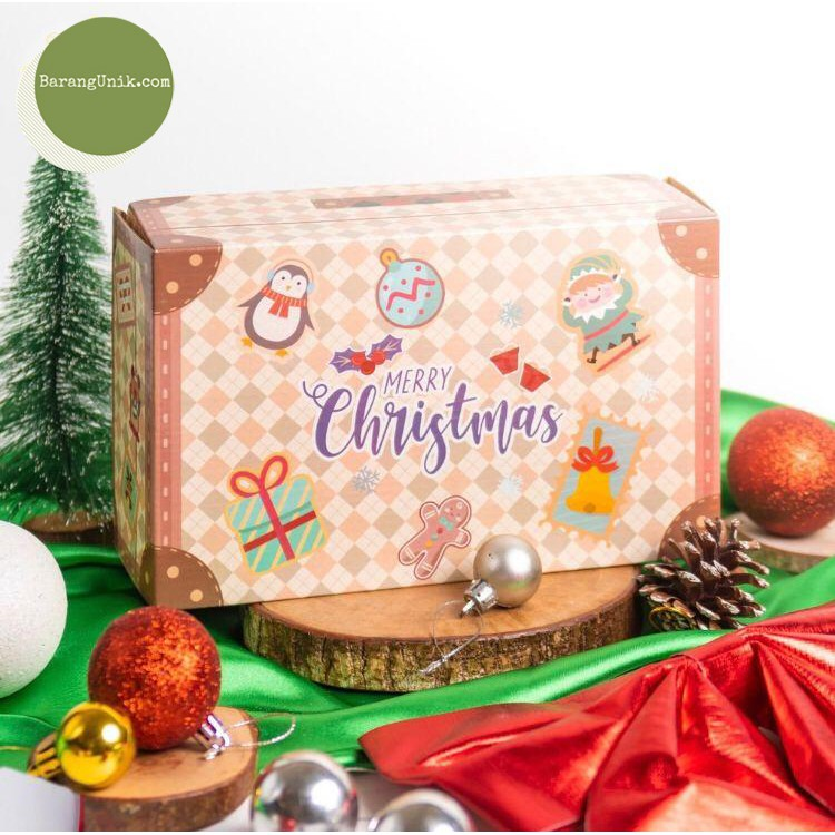 Box Of Gift Box Cookies Cookies Cookies Souvenirs 124 Christmas Gift Packaging Hampers Gift Souvenirs Shopee Singapore