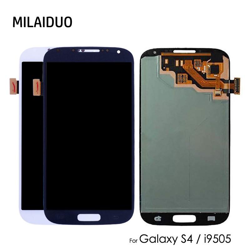 AMOLED for SAMSUNG Galaxy S4 i9500 i9506 i9515 i337 OLED LCD Display Touch