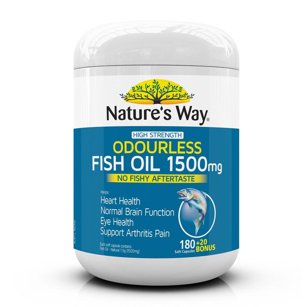 Bioglan Odourless Super Fish Oil 2000 200 Capsules July 2021 | Shopee Singapore