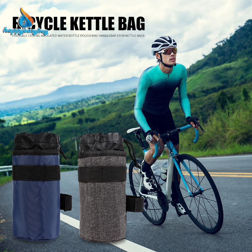 Cycling Kettle Holder Poush Bicycle Front Handlebar Hanging Water Bottle Bag Kl Sporting Goods Bicycle Bags Panniers Romeinformation It