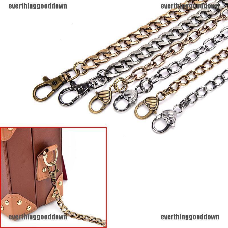 New Metal Purse Chain Strap Shoulder Crossbody Bag Handbag Replacement
