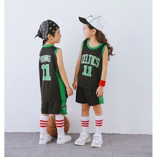 sale retailer 07b0b 16c98 NBA Boston Celtics No.11 Kyrie Irving Kids Basketball Jersey ...