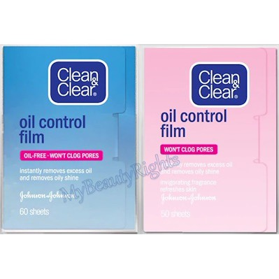 Clean n Clear Oil Control Film (Blue and Pink)
