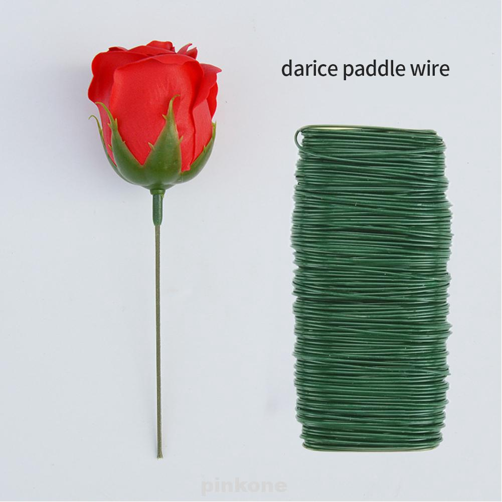 Flexible Portable Crafts Dark Green Flower Arrangements 22 Gauge Wreaths Tree Darice Paddle Wire Shopee Singapore