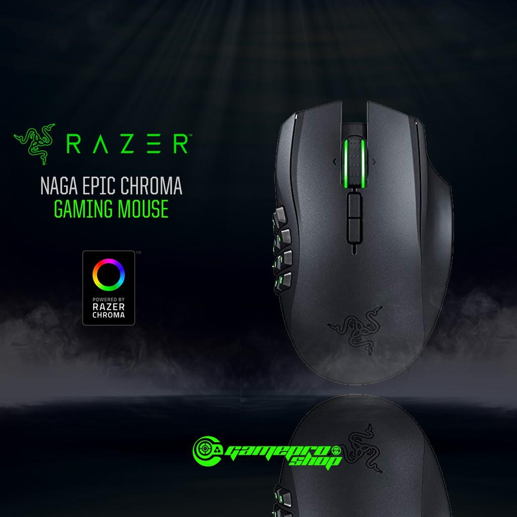 Razer Naga Epic Chroma – Wired/Wireless MMO Gaming Mouse