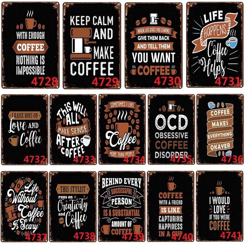 Metal Tin Sign i love you Decor Bar Pub Home Vintage Retro Poster Cafe ART