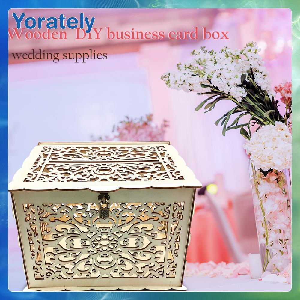 Diy Wooden Wedding Cards Storage Box