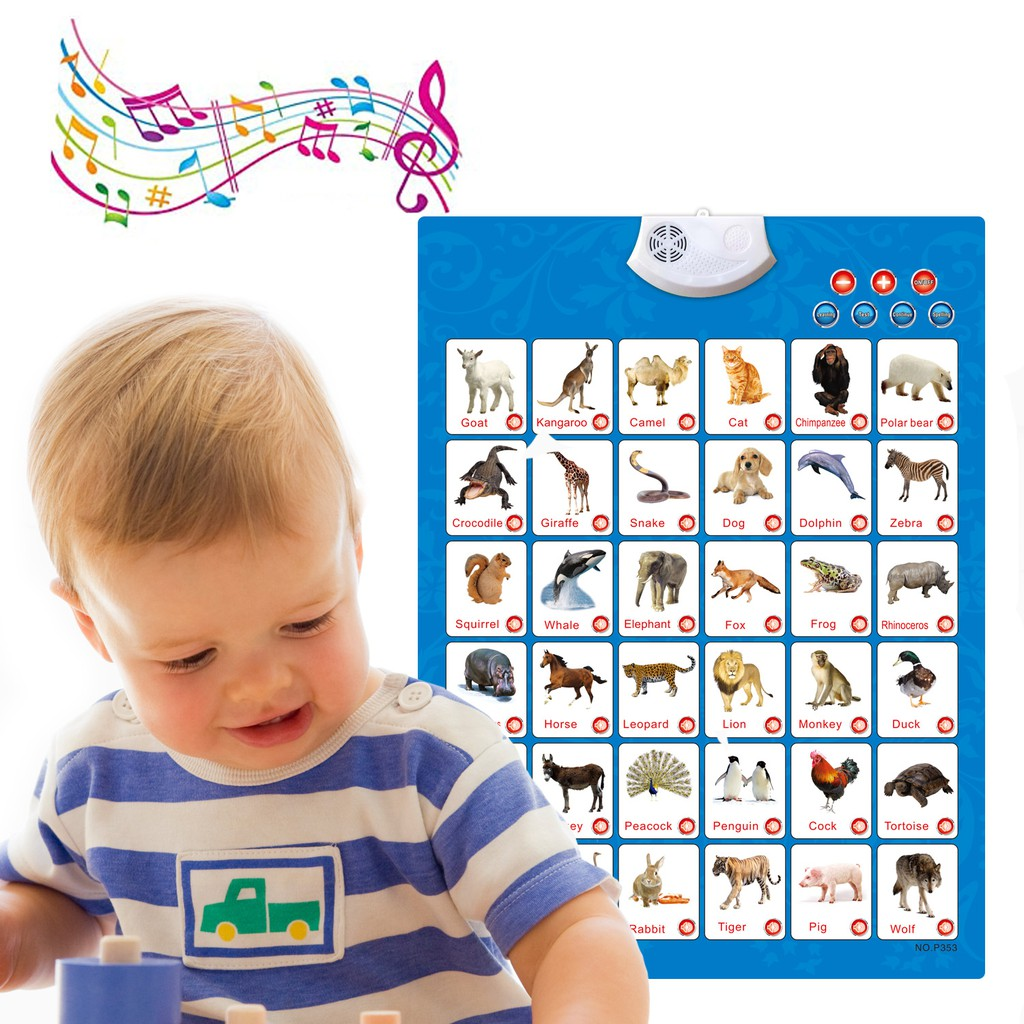 3 PCS Electronic Interactive Alphabet Wall Chart Best ...