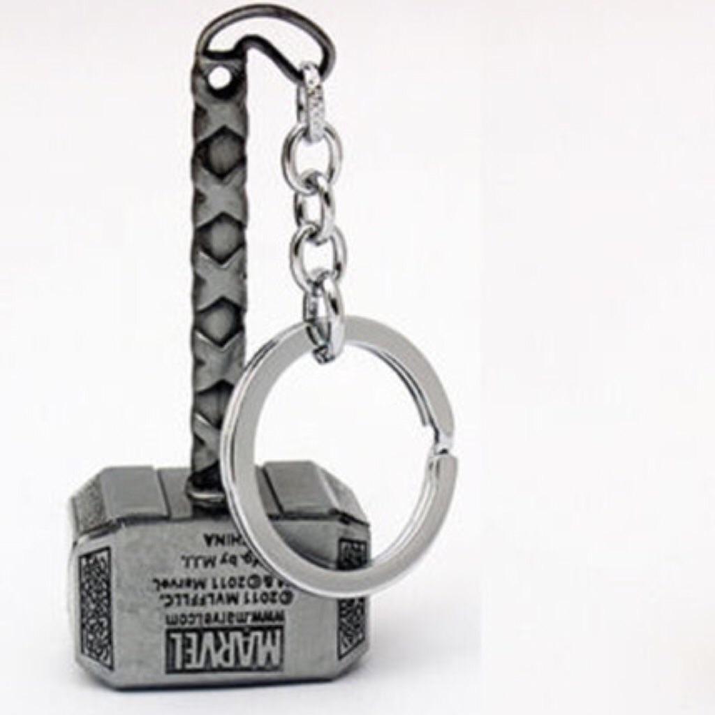 thor hammer keychain sliver instock shopee singapore