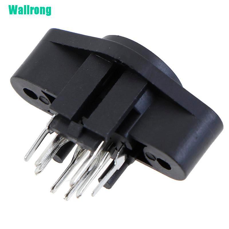 5PCS MDC//S Terminal Socket DIN Jack Connector  Mini PS2 6Pin 6P Socket DOPTUK