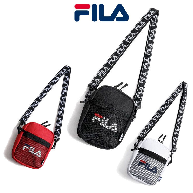 464b1cf86f FILA lightweight casual unisex hip hop nylon crossbody bag Hot | Shopee  Singapore
