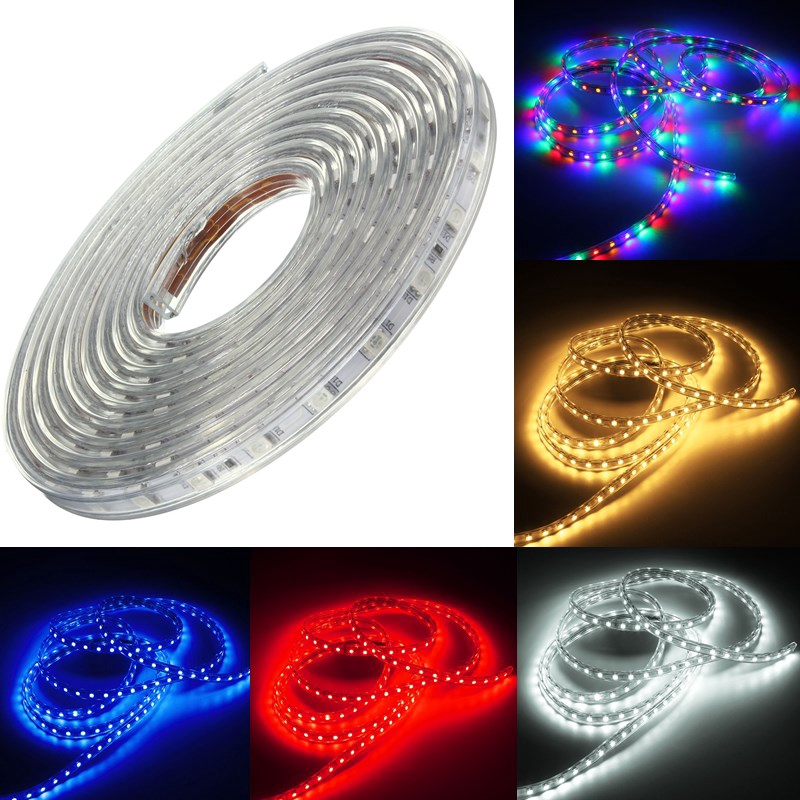 Color : Blue Light Strip Controller Outdoor Waterproof Flexible Tape Rope Strip LED Light Xmas 220V 10M 5050 SMD