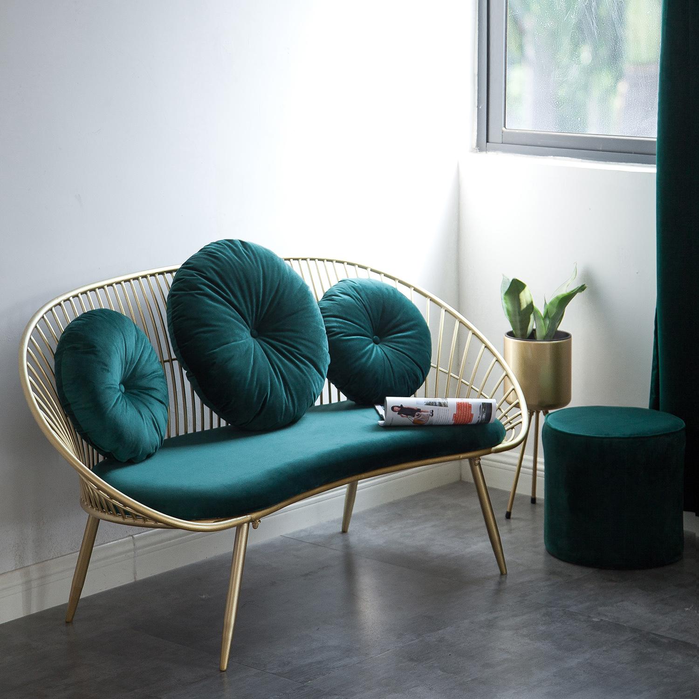 Sofa Clothing Store Coffee Shop Sofa Double Sofa Designer Sofa Chair Shopee Singapore
