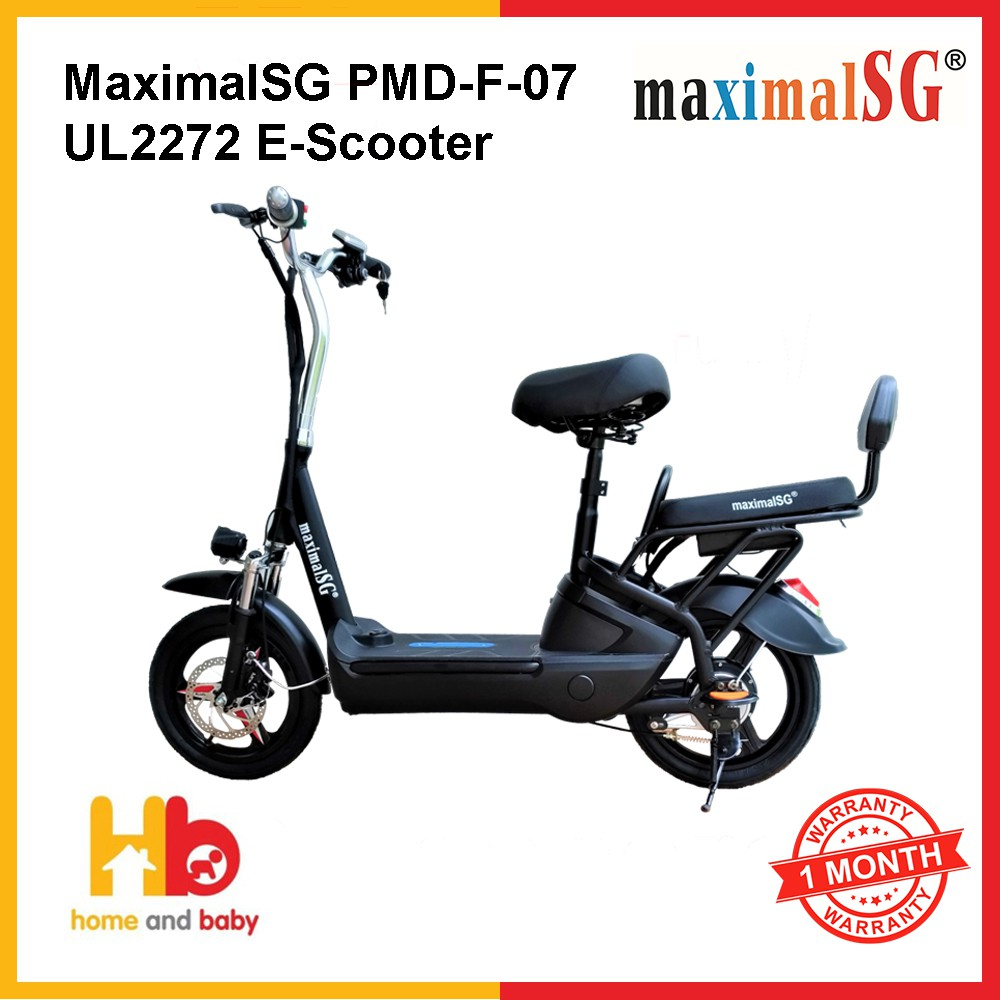MaximalSG PMD-F-07 UL2272 E-Scooter