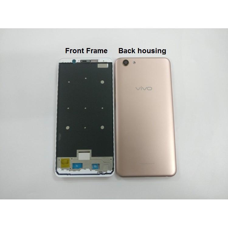 For Vivo Y71 Battery Case Back Cover + Front Frame Housing