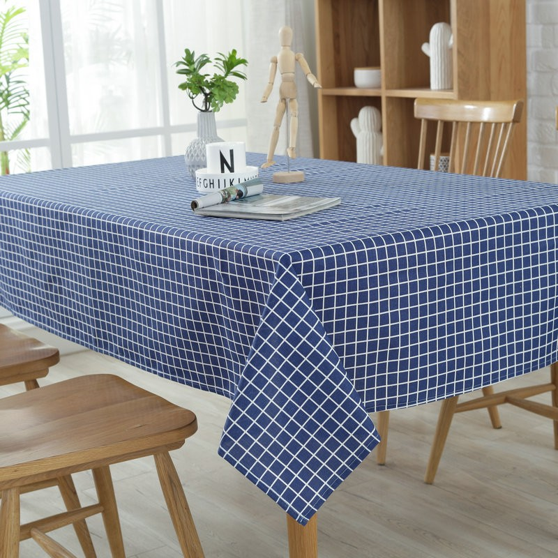 Cotton Linen Fabric Table Cloth