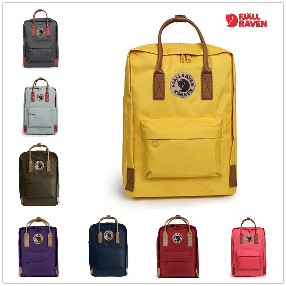 57f58ae29dd1 Fjallraven Kanken No.2 Bag Backpack Leather Bag Men Bag Women Bag Travel  Backpack -01