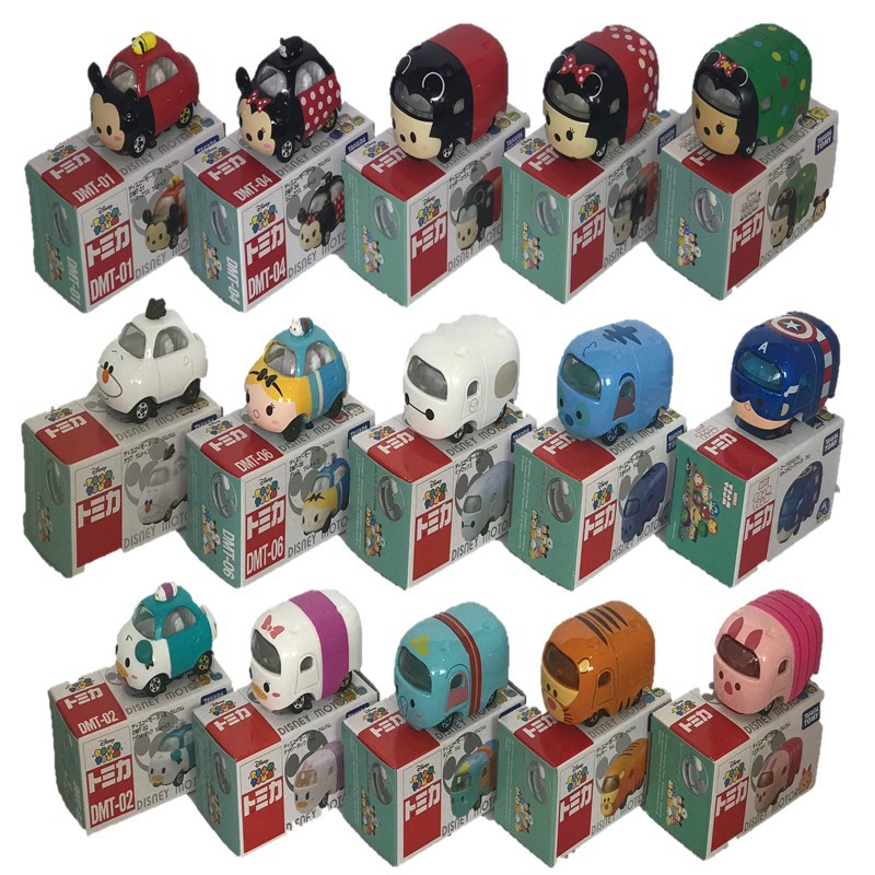 Local Instock! TOMICA TOMY TOY CAR / TSUM TSUM SERIES