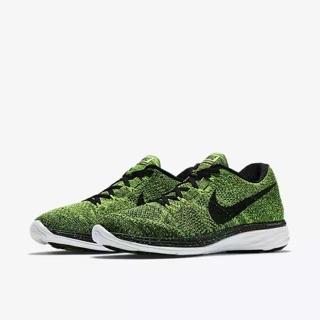 brand new ec6e3 fcc39 Nike Flyknit Lunar 3 'Electric Green' (Men)   Shopee Singapore