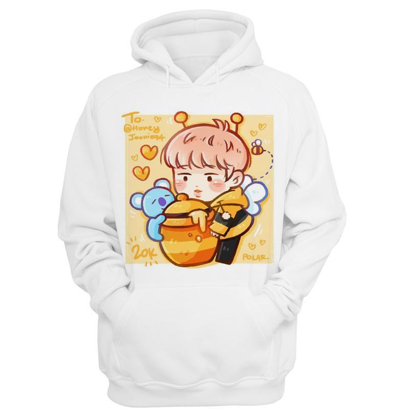 Bts Bt21 Kpop K-pop Kpop 2019 Hoodies Women Autumn Winter