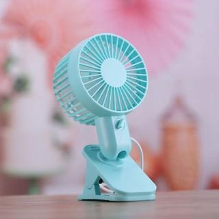portable mini usb fan battery operated clip on mini desk fan with rh shopee sg