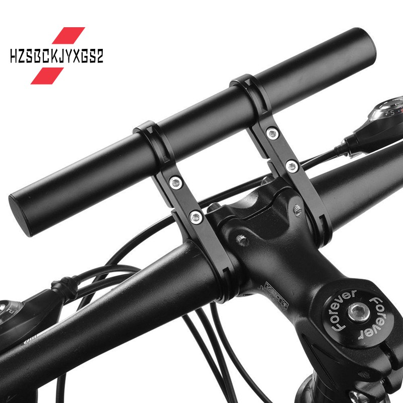 Cycling Bike Bicycle Handle Bar Lamp Bracket Extender Mount Extension Holder