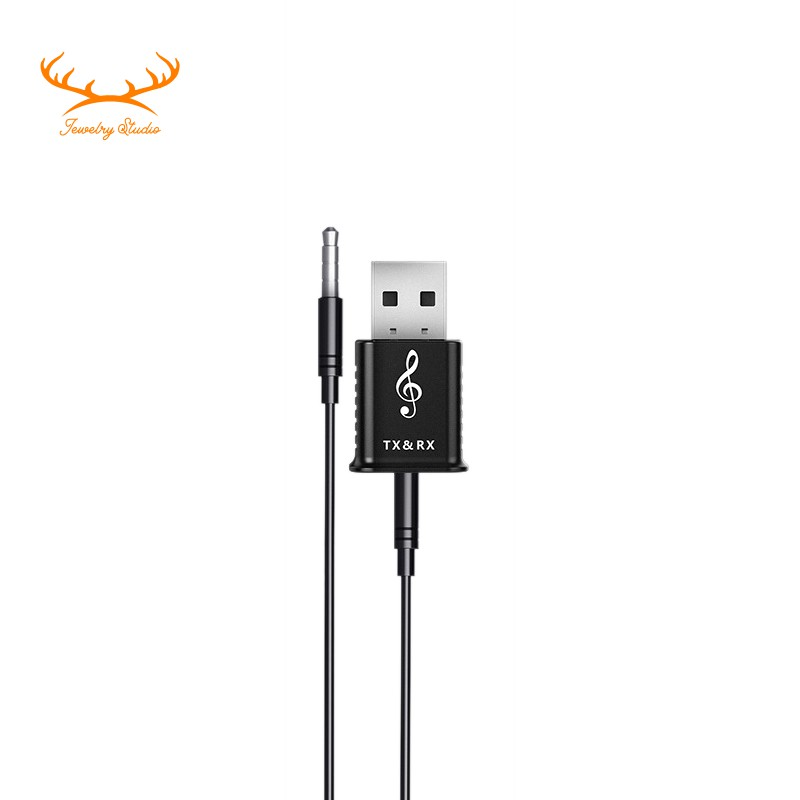 ☀Stock☀Usb Wireless Receiver Transmitters Bluetooth V5.0 Stereo Adapter