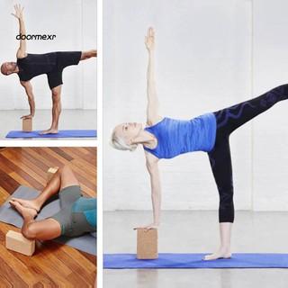 dooryuyoga block pilates cork brick home stretch aid gym